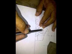 Como aplicar los giros en proceso de hechura de la chapeta para el Clasico Mocasin recto - YouTube