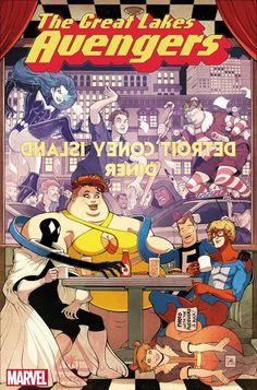Vingadores Centrais - Equipe ganhará nova série em quadrinhos! - Legião dos Heróis