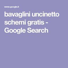bavaglini uncinetto schemi gratis - Google Search