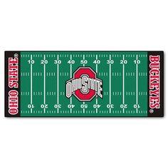 Fanmats Ohio State Buckeyes Football Field Runner