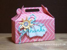 My Scrappy Ideas: Cricut Artiste Gable Box