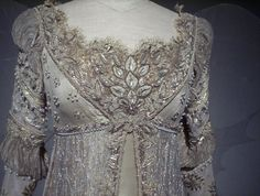 Ever After Costume Inktober, Vintage Dresses, Vintage Outfits, Oscar Dresses, Blue Wedding Dresses, Period Outfit, Facon, Historical Clothing, Halloween