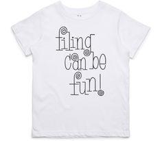 El Cheapo Filing Can Be Fun! (Black) Youth White T-Shirt