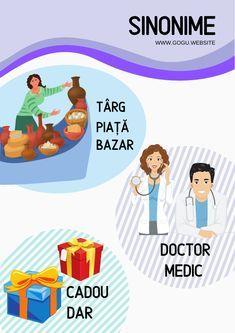 Sinonime, antonime, omonime, paronime – Gogu Education Preschool Activities, Medical, Student, Education, Poster, Medicine, Onderwijs, Learning, Med School