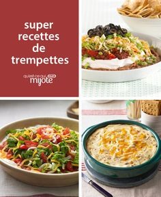 Hosting some hungry football fans? We've gathered our best delicious dip for all your entertaining needs! Savour the company of your loved ones as you share these tasty appetizers. Easy Appetizer Recipes, Yummy Appetizers, Dip Recipes, Snack Recipes, Cooking Recipes, Fingers Food, Healthy Snacks, Healthy Recipes, Kraft Recipes