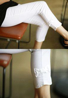 White Jeans, Korean, Pants, Fashion, Trouser Pants, Moda, Korean Language, Fashion Styles, Women's Pants