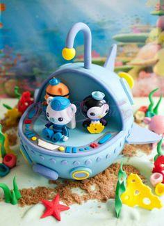 Octonauts cake!