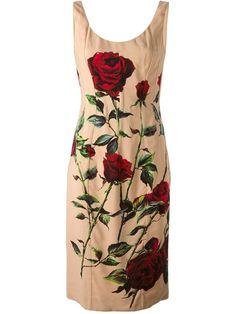 Dolce & Gabbana Vestido Estampado - Auzmendi - Farfetch.com