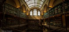 The Rijksmuseum Research Library is one of the main art libraries in the world. Catalogues of auctions and exhibitions, trade and collection catalogues, as well as books, periodicals and annual reports relating to the museum collections have been collected without interruption since 1885. by Rogier Kop on 500px