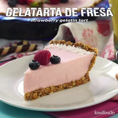 Cake nature fast and easy - Clean Eating Snacks Mexican Food Recipes, Sweet Recipes, Dessert Recipes, Granola, Gelatin Recipes, Delicious Desserts, Yummy Food, Savoury Cake, Cheesecake Recipes