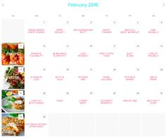 Workout Calendar — Rebecca-Louise