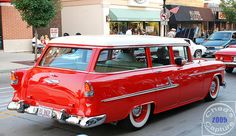 1955 Chevrolet Bel-Air Station Wagon by Chad Horwedel, via Flickr