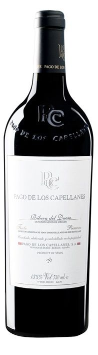 Pago de Los Capellanes 2008.   I had a sip before Moray and Chris polished it off!