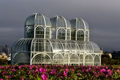 The conservatory at the Curitiba Botanical Gardens in Curitiba, Puerto Rico.