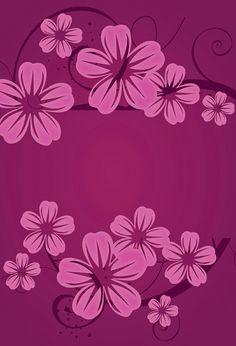 Teal Wallpaper, Flower Wallpaper, Pattern Wallpaper, Wallpaper Backgrounds, Cellphone Wallpaper, Phone Wallpapers, Art Flowers, Flower Art, Purple Walls