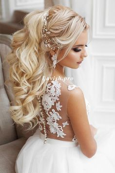 Hair Styles for Women That Enhance Their Beauty – HerHairdos Wedding Hairstyles For Women, Bride Hairstyles, Ponytail Hairstyles, Short Hairstyles, Long Hair Wedding Styles, Elegant Wedding Hair, Long Hair Styles, Bridal Hair Pins, Wedding Hair And Makeup