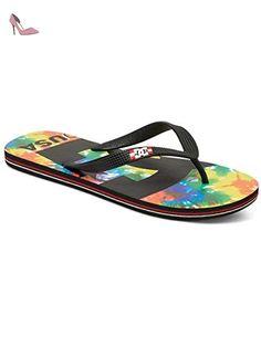 Tong Homme DC shoes Spray Graffik black geo - Taille 46 - Chaussures dc  shoes (*Partner-Link) | Chaussures DC Shoes | Pinterest