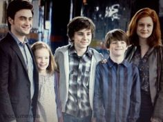 Harry James Potter,Lily Luna Potter,James Sirius Potter, Albus Severus Potter, Ginevra Molly Potter (Weasley) ;)
