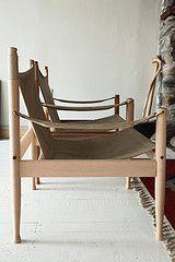 Canvas safari chairs by N. Eilerson. Loves.