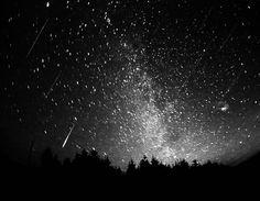 witness a meteor shower