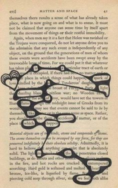 create your own gothic love poetry from old book pages as a unique and special valentine or christmas gift Found poetry. This is fabulous, use old books or photocopy book pages. Poetry and art and no two will be the same. Poema Visual, Found Poetry, Blackout Poetry, Blackout Book, Poetry Art, Poetry Quotes, Writing Poetry, Old Books, Altered Books