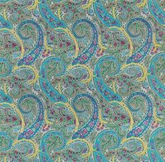 0Paisley textiles, the new thing