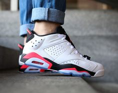 "Air Jordan 6 Low ""Infrared"""