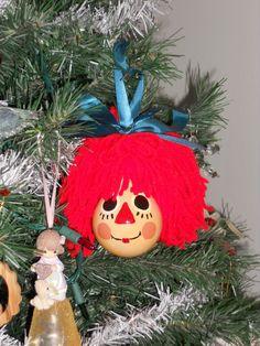 Homemade Christmas Ornaments - Reindeer Light Bulbs 2