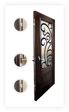 Fiberglass Doors  Fiberglass doors offer the perfect balance between durability, security and beauty. Our customers enjoy the warmth and ambience of a traditional wooden door, along with the strength and resilience of fiberglass fabrication.