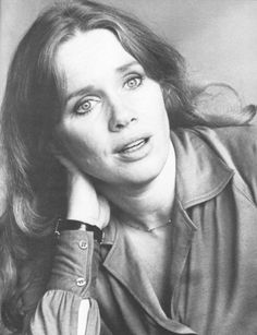 Liv Ullman- when I watched Persona for the first time, I couldn't believe how much she looked like my mom as a young woman