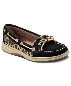 I looove them. And the leopard print is not pony hair like on other Sperry's, but just a suade material.