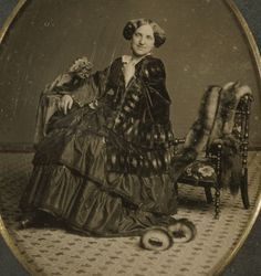 (animated stereo) Antebellum Daguerreotype Portrait, pre 1860 by Thiophene_Guy, via Flickr