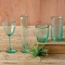 Recycled Glassware - Sets of 6