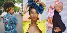 Turbanista : 10 façons de nouer le foulard vues sur Insta African Head Wraps, Facon, How To Wear, Fantasy, Clothes, Headscarves, Hair, Queens, Outfits