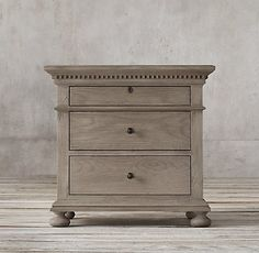 RH's Nightstands:Restoration Hardware's selection of bedroom nightstands add timeless style and elegance to any bedroom. Our collection of drawer nightstands are crafted with superb attention to detail and adherence to quality, the perfect addition to any bedroom.