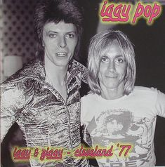 Iggy POP David BOWIE Iggy & Ziggy Live in by WhatCheerProvidence