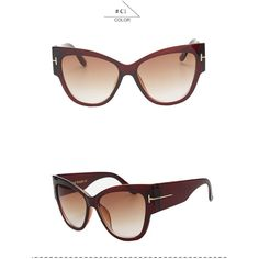 Women's Oversized Vintage Cat Eye Sunglasses Multiple Colors Available