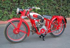 Moto Guzzi 1939 Egretta, 250cc