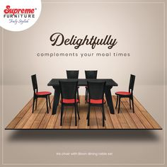 Our dining tables are designed to make your mealtimes wonderful. Make every meal count with our Bison & Iris dining set because it's the little moments like these that make happy homes. Explore our range of beautiful moulded furniture by downloading our app or visiting our website. . . . #SupremeFurniture #MouldedFurniture #PlasticFurniture #BeautifulSpaces #Durable #Sturdy #Vibrant #Aesthetic #TrulyStylish #HomeDecor #LowMaintenance #StackableFurniture #Decor #IndoorFurniture…