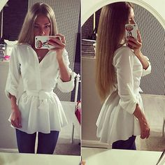 NEUE frauen Bluse Shirt Long Sleeve Button Down Lässige Tops Damen Dünnes Kleid