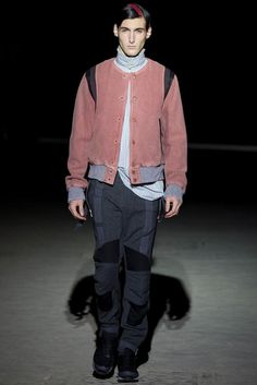 Dries Van Noten Fall 2014 Menswear - Collection - Gallery - Look 1 - Style.com
