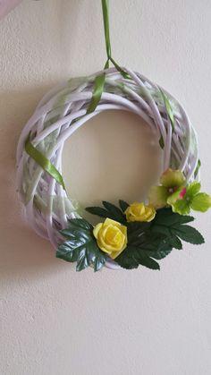 Grapevine Wreath, Grape Vines, Floral Wreath, Wreaths, Handmade, Home Decor, Homemade Home Decor, Hand Made, Door Wreaths