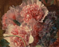 detailsofpaintings:Jan van Huysum, Fruit Piece 1722