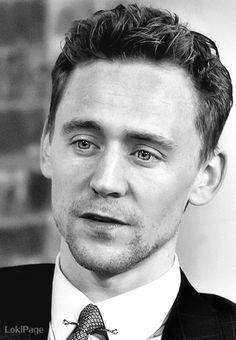 Hiddles, with sparkling eyes and just the right amount of stubble.