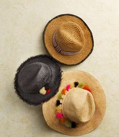 It's not a true festival look without a straw hat. Shop our wide assortment of…