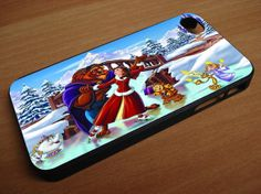 beauty and the beast dancing in the snow  for by GladiatorandBlood, $14.99