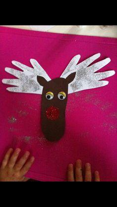 Rudolf - lav en hvert år og følg med i hvordan både fødder og hænder vokser