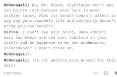 Sirius & McGonagall