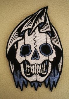 Morton Home Just The Tip Funny Hook and Loop Fully Embroidered Morale Patch