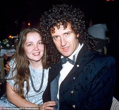 I hear that Chrissie Mullen, the first wife of lead guitarist Brian May, was unhappy at how she was portrayed in the movie Bohemian Rhapsody - prompting producers to cut her out altogether. John Deacon, Beatles, Freddie Mercuri, Brian's Song, Queen Brian May, Queen Photos, Queen Freddie Mercury, Davy Jones, Queen Band